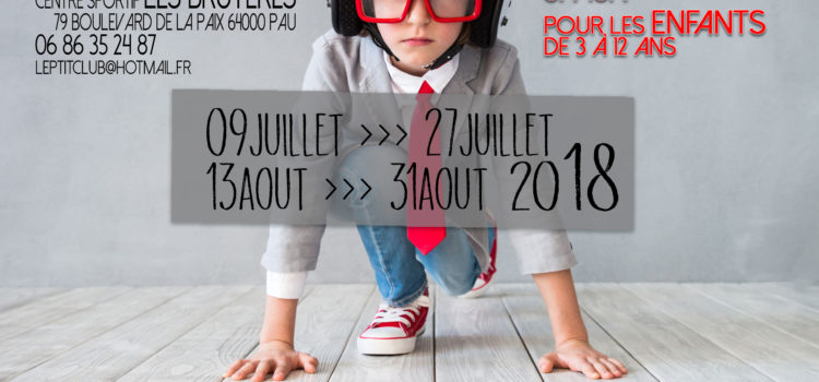 Stages multisports vacances scolaires été 2018