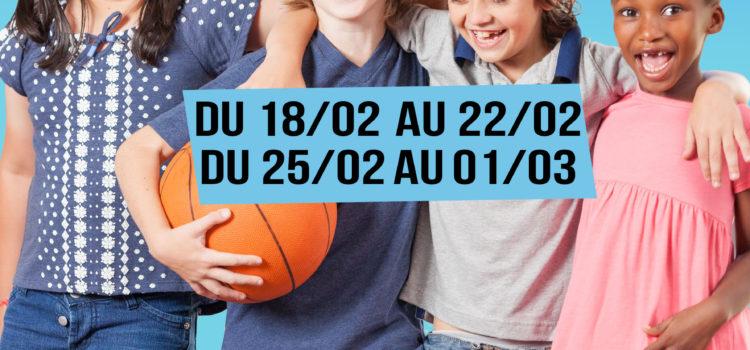 Stages multisports vacances scolaires Février 2019